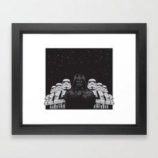 The crew Framed Art Print