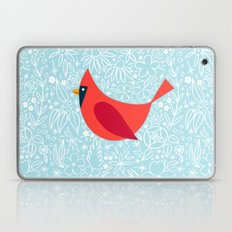 Cardinal Flowers, Carolina Blue Laptop & iPad Skin