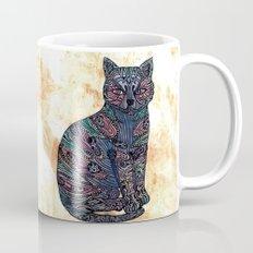 My blue cat.   Mug