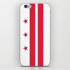 Washington D.C official Flag iPhone & iPod Skin