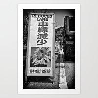 Okinawa Traffic Jam Art Print