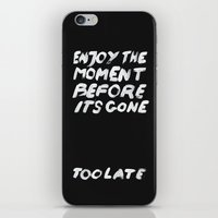 IT'S GONE iPhone & iPod Skin