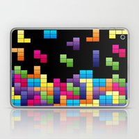 Tetris Troubles. Laptop & iPad Skin