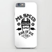 iPhone & iPod Case featuring Mr. Speed by T-SIR
