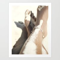 Beach Love 2 Art Print