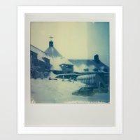 Timberline Lodge - Polar… Art Print