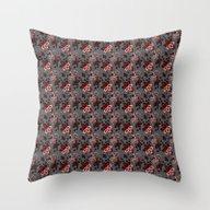 Floral Endeavors Throw Pillow