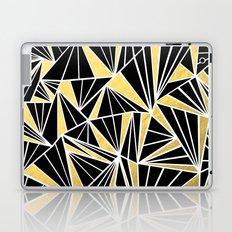 Ab Fan Zoom Gold Laptop & iPad Skin