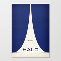 Bungie's HALO Canvas Print