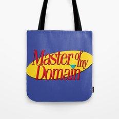 Master of my domain Tote Bag