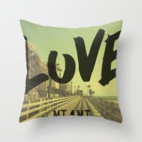 LOVE - Miami - Throw Pillow