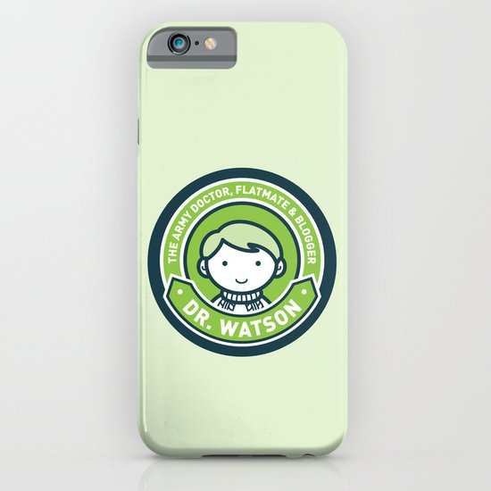 Cute John Watson - Green iPhone & iPod Case