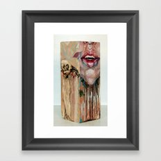 My Inevitable Self Destruction Framed Art Print