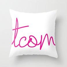 #TCOM Throw Pillow