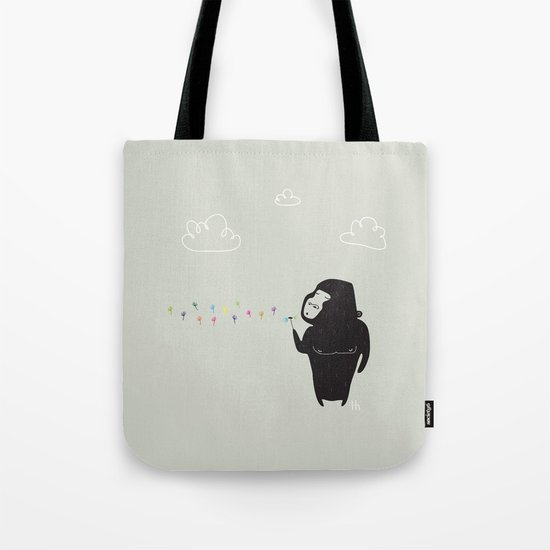 The Happy Dandelion Tote Bag