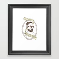 This Is Not A Hipster Pr… Framed Art Print