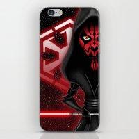 Darth Maul...Sith happens! iPhone & iPod Skin