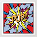 POP Art Exclamation Art Print