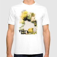 Thermal Pool Mens Fitted Tee White SMALL