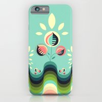 iPhone & iPod Case featuring Happy Garden by VessDSign