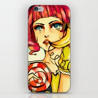 THE LINE YOU DIAL IS NOT… iPhone & iPod Skin
