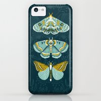 iPhone 5c Cases featuring Lepidoptery No. 8 by Andrea Lauren  by Andrea Lauren Design