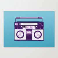 Listen to my... Canvas Print