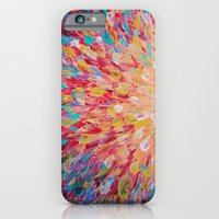 SPLASH - WOW Dash of Cheerful Color, Bold Water Waves Theme, Nature Lovers Modern Abstract Decor iPhone 6 Slim Case