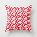 Very Floral Throw Pillow