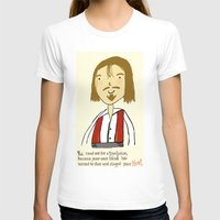 Don Juan Womens Fitted Tee White SMALL
