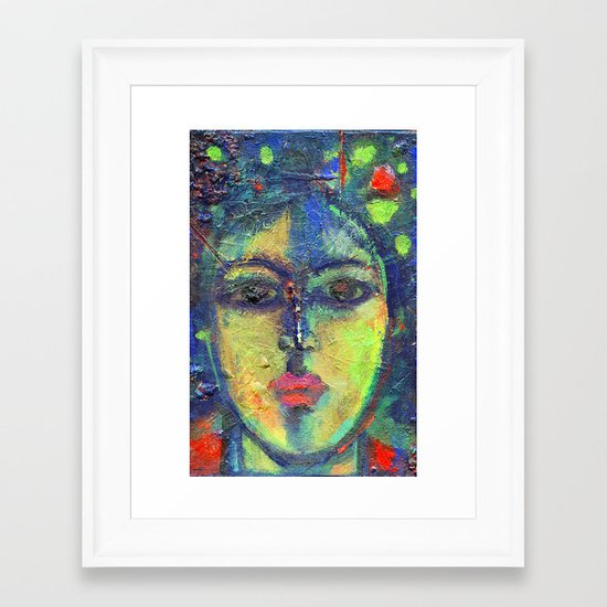 Face#3 Framed Art Print