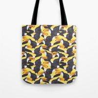 Toucans [yellow] Tote Bag