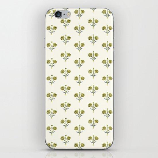 Butter Peonies iPhone & iPod Skin