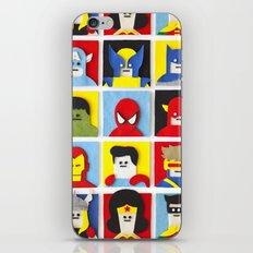 Felt Heroes iPhone & iPod Skin