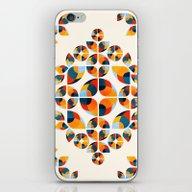 Fantasy Garden Pattern V iPhone & iPod Skin