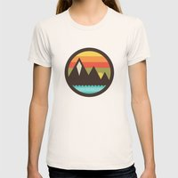 Midsummer's Eve Womens Fitted Tee Natural SMALL