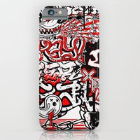 "iPhone & iPod Case featuring ""Letter Fetish"" by XRAY"