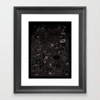 Music Festival Framed Art Print