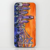 Ben Franklin Bridge Suns… iPhone & iPod Skin