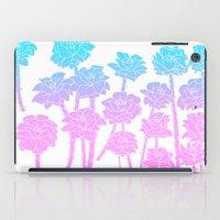 Gradient Roses iPad Case