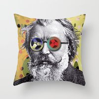 Brahms In Reel To Reel G… Throw Pillow