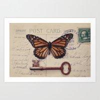 Butterfly no. 1 Art Print