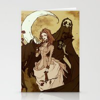 Death and the Maiden Stationery Cards