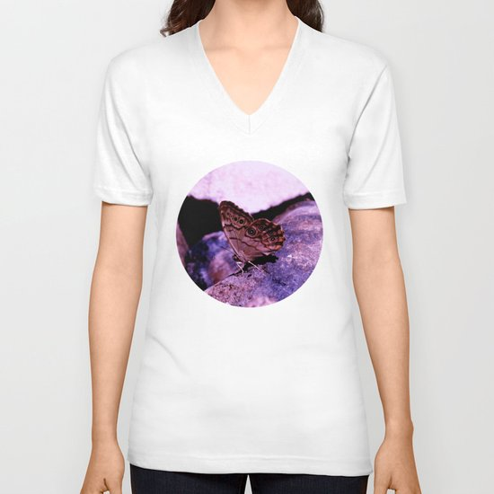 Simplistic Beauty V-neck T-shirt