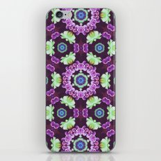 Kaleidoscope - Floral Fantasy iPhone & iPod Skin