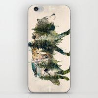 Wolf is the Pride of Nature iPhone & iPod Skin