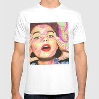 Neon  Mens Fitted Tee White SMALL