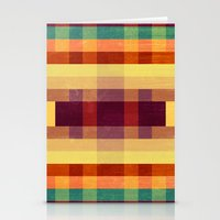 Autumn Winds Abstract  Stationery Cards