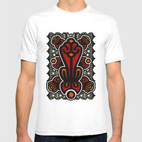 Biotica 1 Mens Fitted Tee White SMALL
