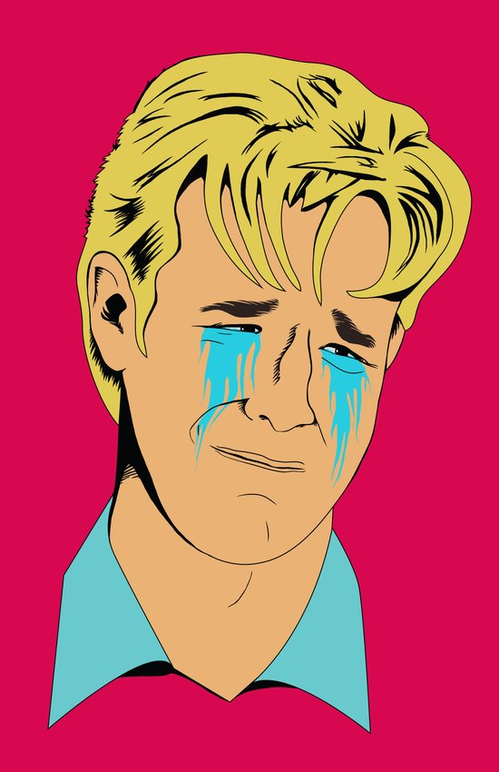 Crying Icon #1 - Dawson Leery Art Print